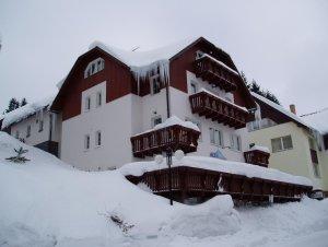 Pension Alba Špindlerův Mlýn - ubytování zima
