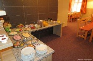 Ubytování - Pension Bystřenka - Špindlerův Mlýn - Krkonoše - snídaně