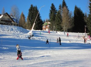 Apartmány Aneta Špindlerův Mlýn - dětský vlek, snowtubing