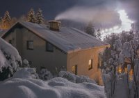 Pension Balcar Špindlerův Mlýn - ubytování zima Krkonoše