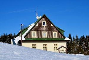 Pension Minerva Špindlerův Mlýn - ubytování zima Krkonoše