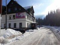 Pension Fortuna Špindlerův Mlýn - levné ubytování - zima v Krkonoších