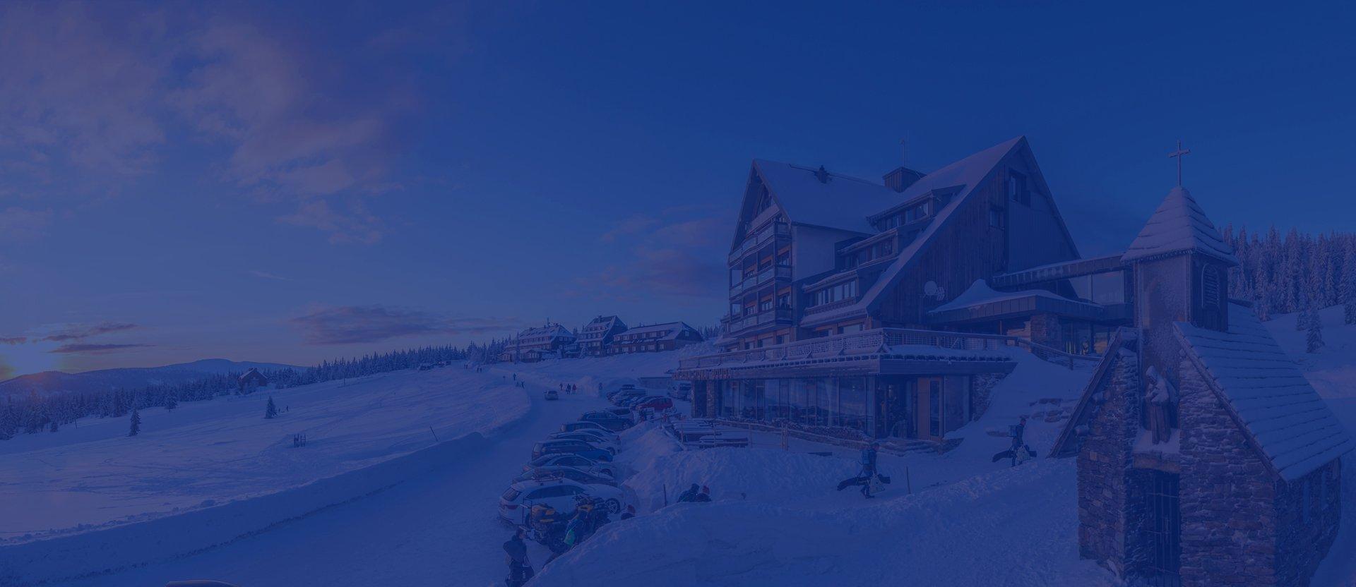 Resort Sv. František - Erlebachova a Josefova bouda